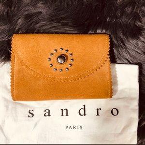SANDRO PARIS wallet -tan